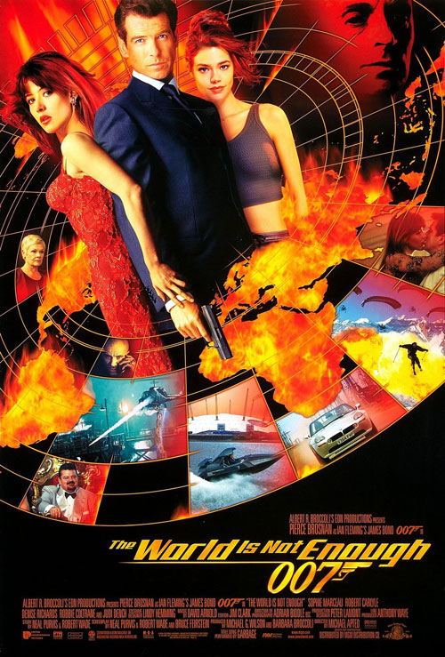 Us poster from the movie The World Is Not Enough