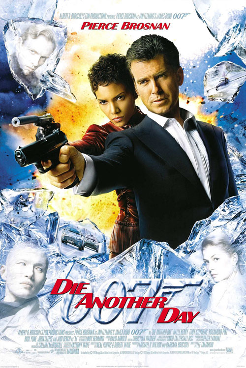 Us poster from the movie Die Another Day