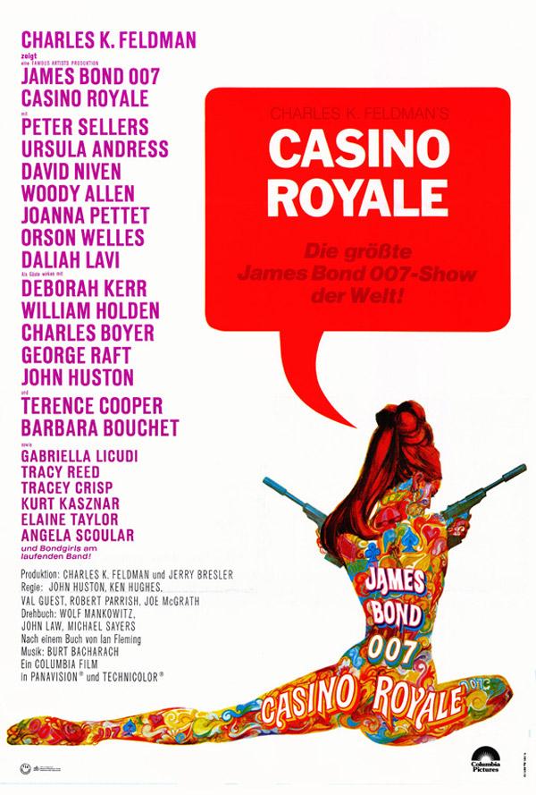 Resultado de imagen de Casino Royale 1967 poster