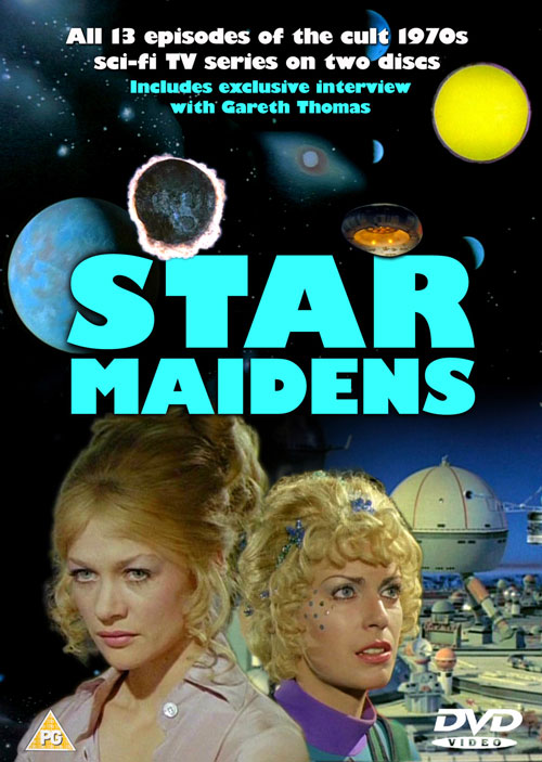 British artwork from the series Star Maidens