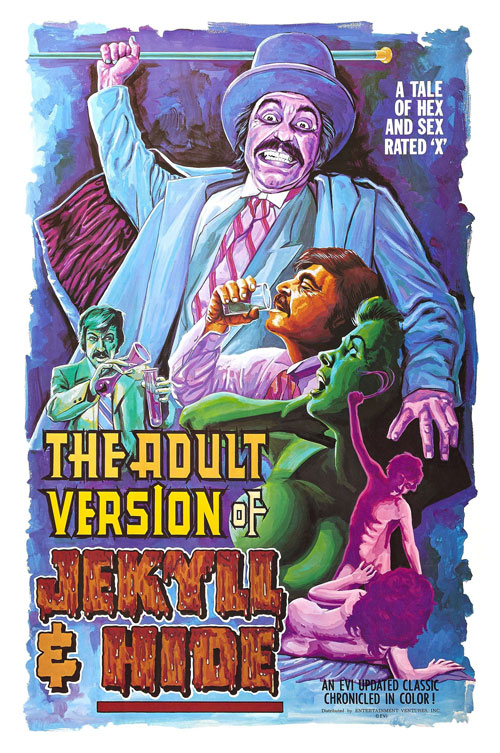 Us poster from 'The Adult Version of Jekyll & Hide'