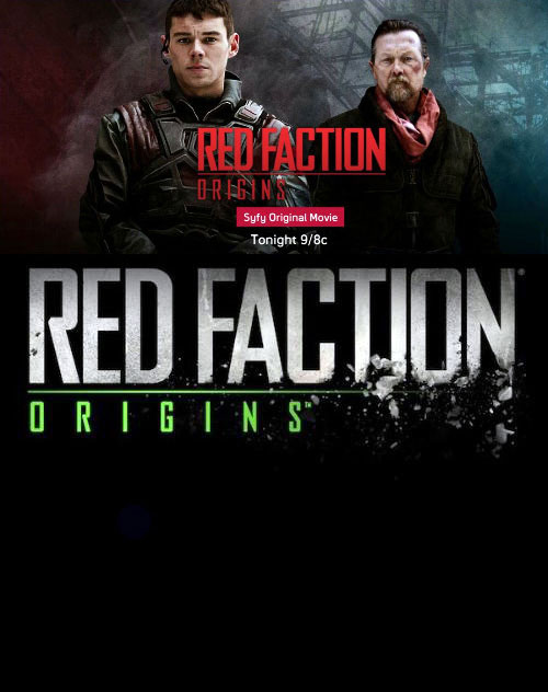 Us poster from the TV movie Red Faction: Origins