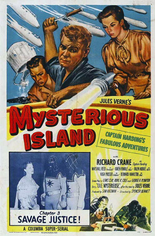 Us poster from the series Mysterious Island