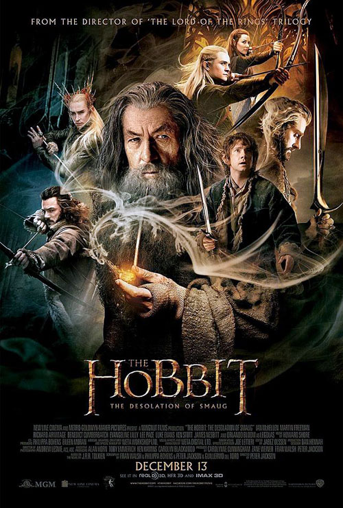 Us poster from the movie The Hobbit: The Desolation of Smaug