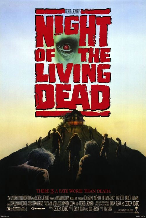 Us poster from the movie Night of the Living Dead