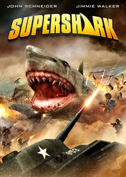 Unknown artwork from the movie Super Shark