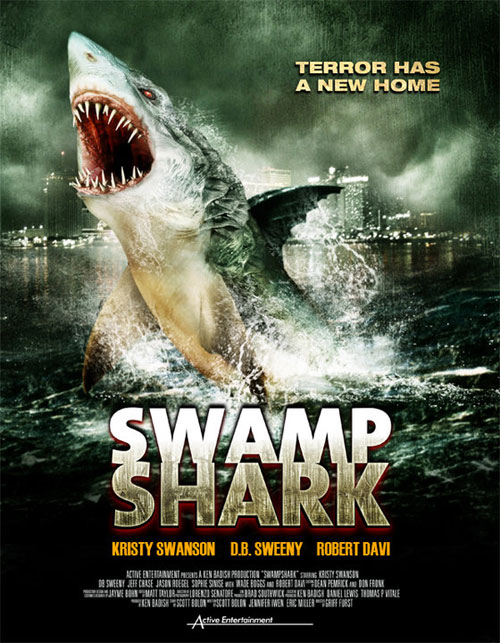 Us poster from the TV movie Swamp Shark