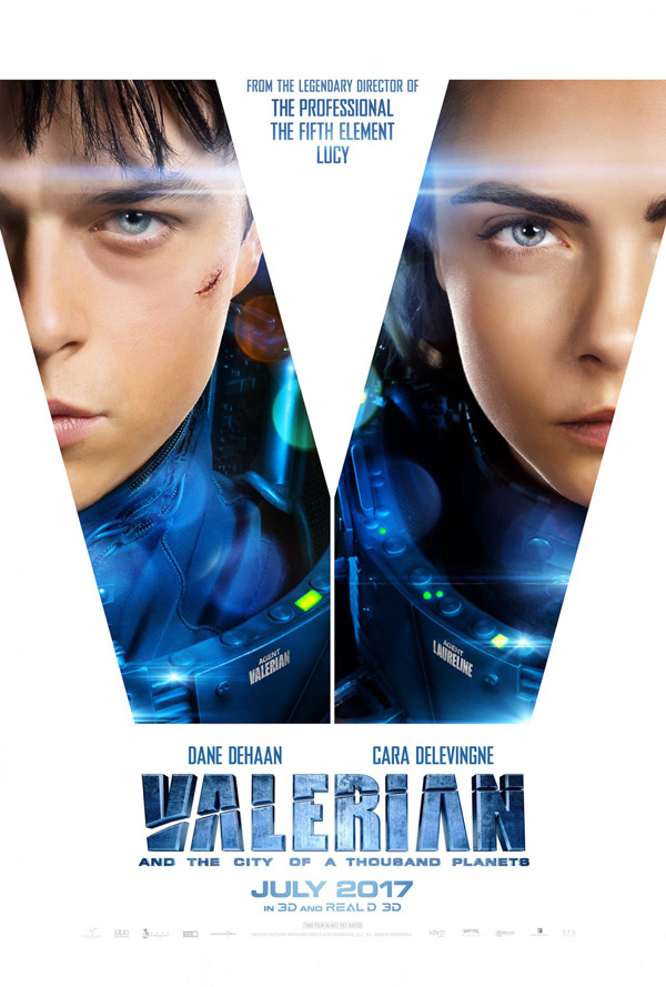 Us poster from 'Valerian and the City of a Thousand Planets'