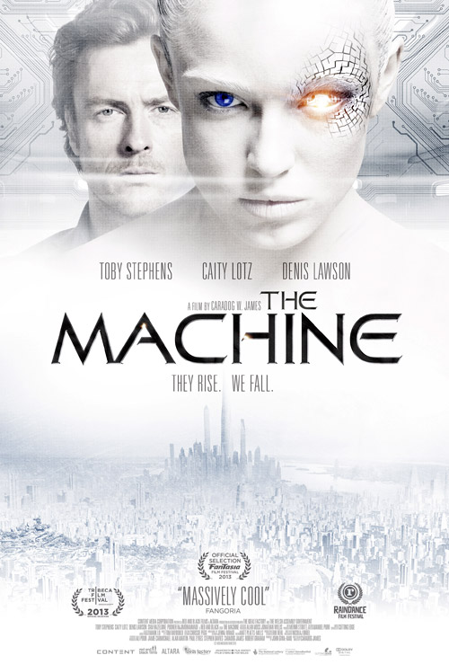 Unknown poster from the movie The Machine