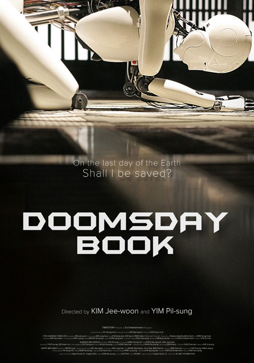 Affiche internationale de 'Doomsday Book'