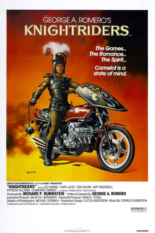Us poster from the movie Knightriders