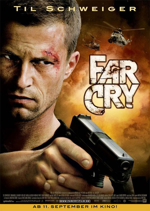 German poster from the movie Far Cry
