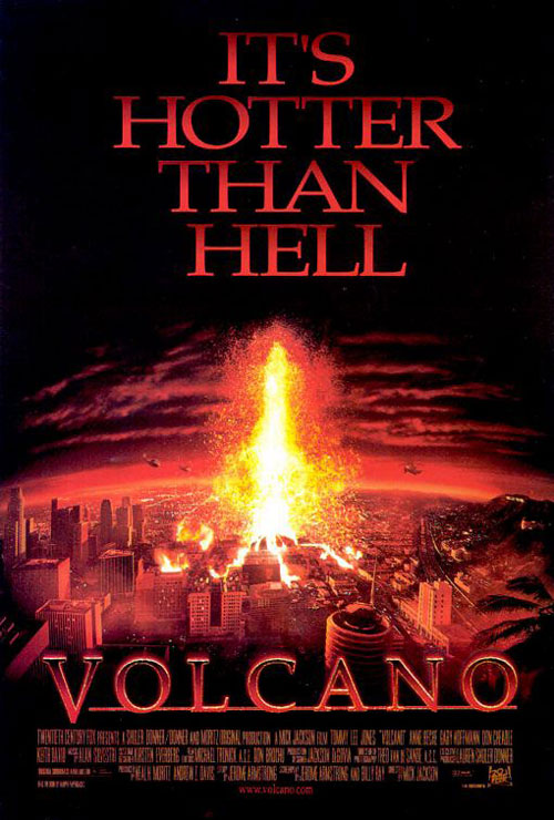 Us poster from the movie Volcano