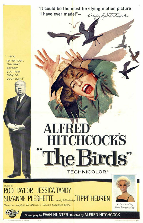 Us poster from the movie The Birds
