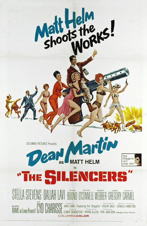 Us poster from the movie The Silencers