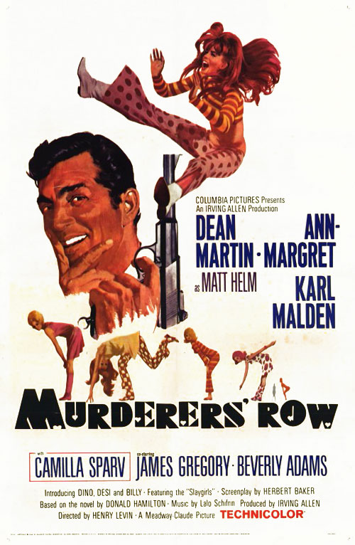 Us poster from the movie Murderers' Row