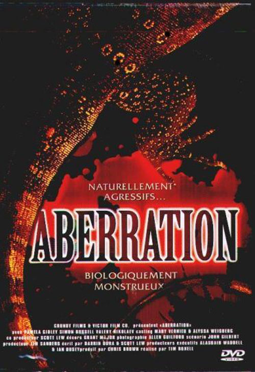 French artwork from the movie Aberration