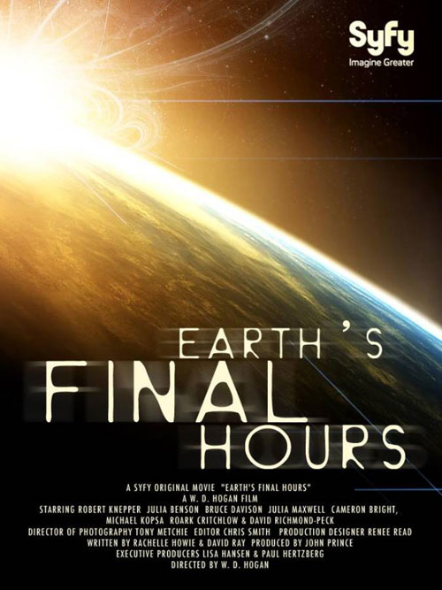 Us poster from the TV movie Earth's Final Hours