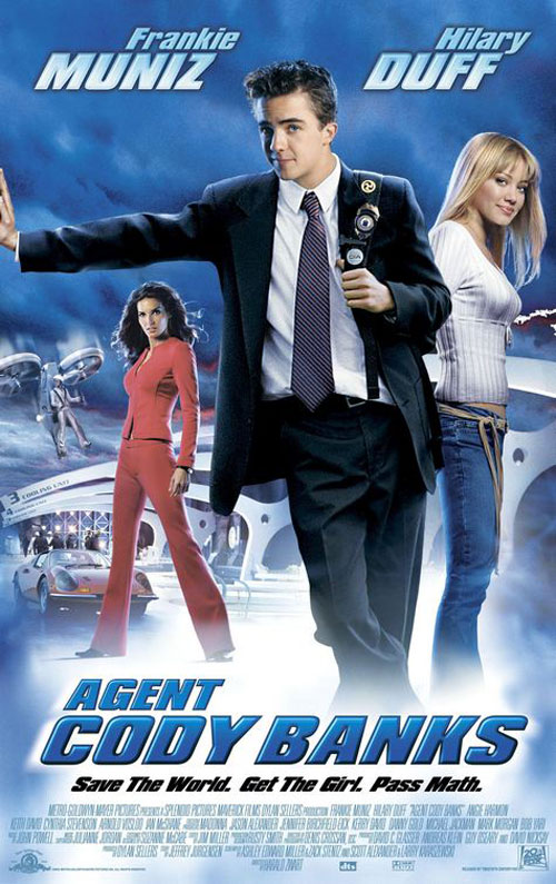 Affiche américaine de 'Cody Banks : agent secret'