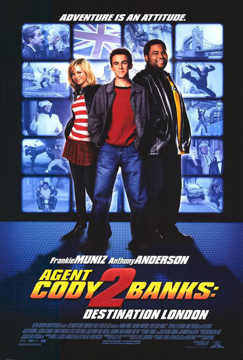 Affiche américaine de 'Cody Banks agent secret 2 - Destination Londres'