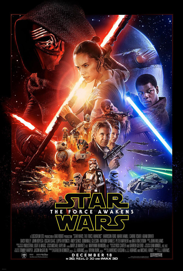 Us poster from the movie Star Wars: Episode VII - The Force Awakens