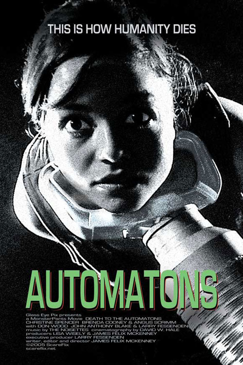 Unknown poster from the movie Automatons