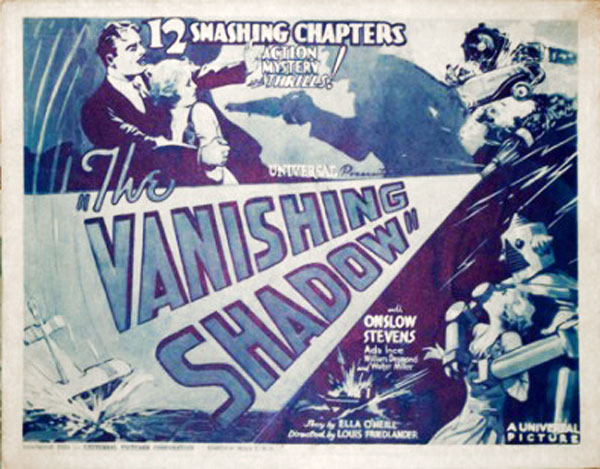 Us poster from the series The Vanishing Shadow