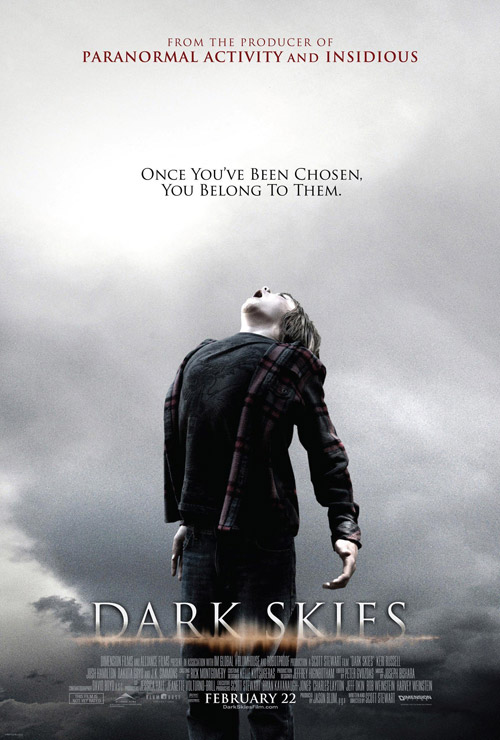 Affiche américaine de 'Dark Skies'