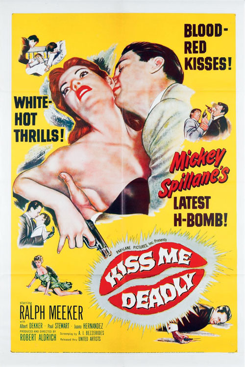 Us poster from the movie Kiss Me Deadly