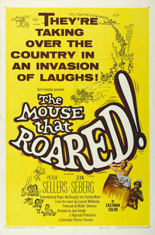 Us poster from the movie The Mouse That Roared