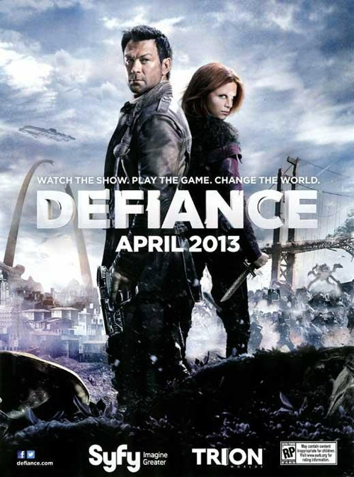 Us poster from the series Defiance