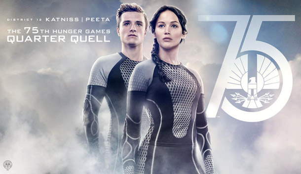Affiche américaine de 'Hunger Games : l'embrasement'