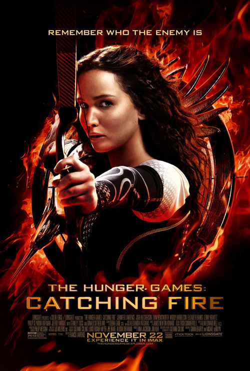 Us poster from the movie The Hunger Games: Catching Fire