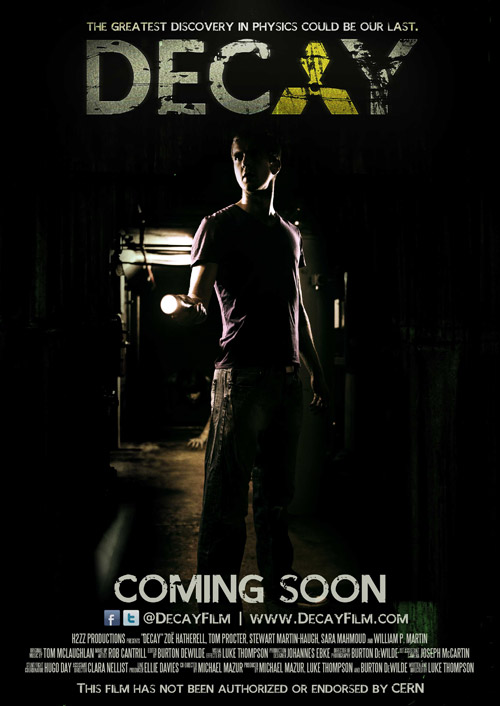 International poster from the movie Decay