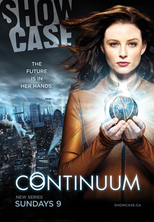 Canadian poster from the series Continuum
