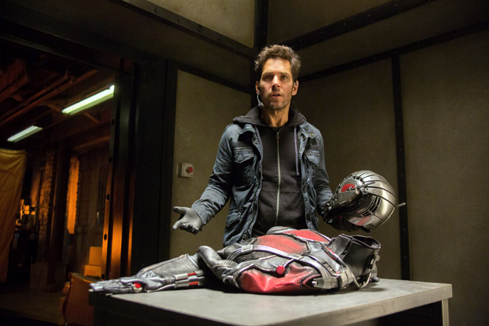 Photo de 'Ant-Man' - ©2015 Marvel - Ant-Man (Ant-Man) - cliquez sur la photo pour la fermer