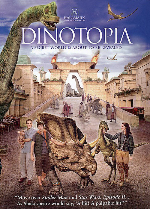 Us artwork from the series Dinotopia