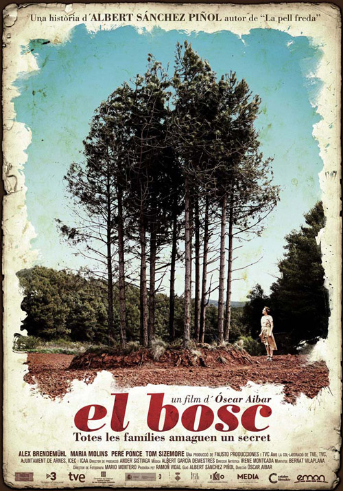 Spanish poster from the movie El bosc