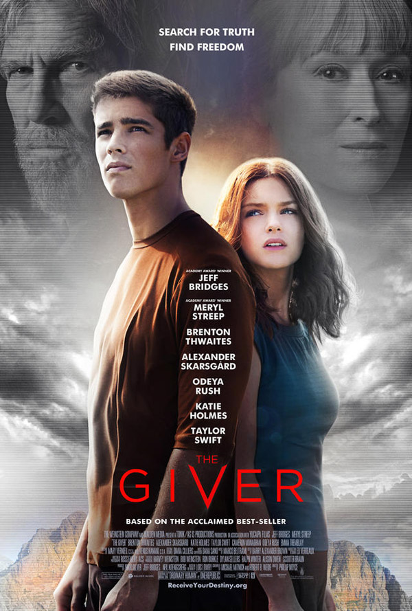 Us poster from the movie The Giver