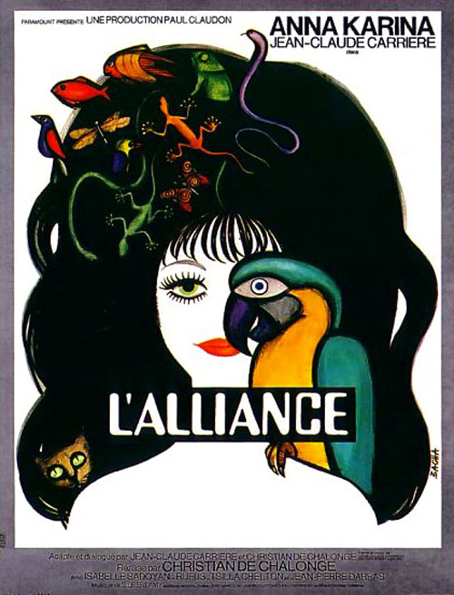French poster from the movie L'alliance