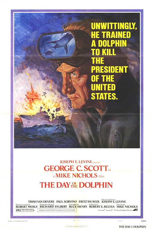 Us poster from the movie The Day of the Dolphin