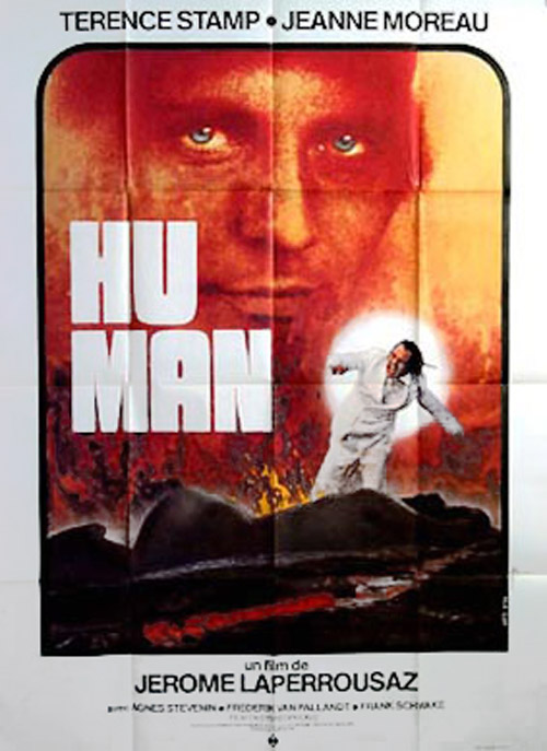 French poster from the movie Hu-Man