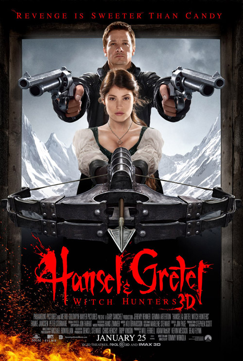 Us poster from the movie Hansel and Gretel Witch Hunters