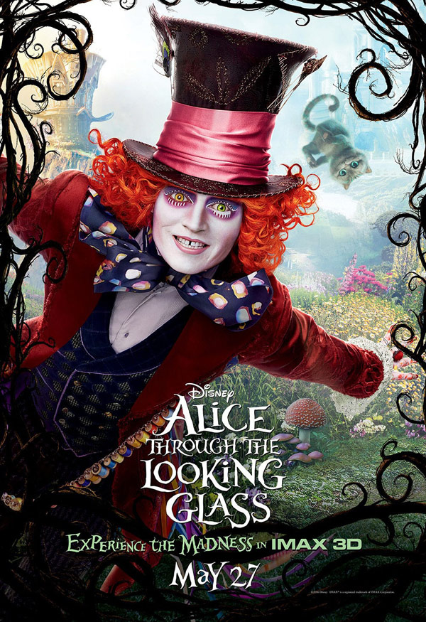 Us poster from 'Alice Through the Looking Glass'
