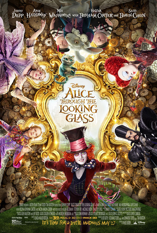 Us poster from the movie Alice Through the Looking Glass