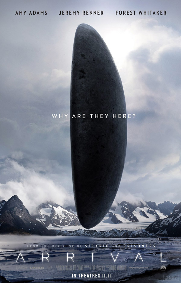 Us poster from the movie Arrival