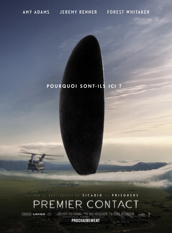 French poster from 'Arrival'