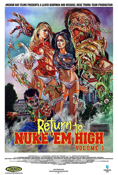 Us poster from the movie Return to Nuke 'Em High Volume 1