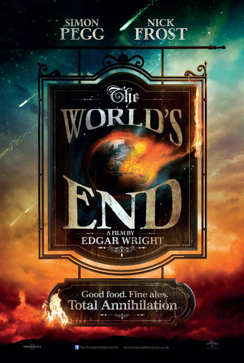 British poster from the movie The World's End