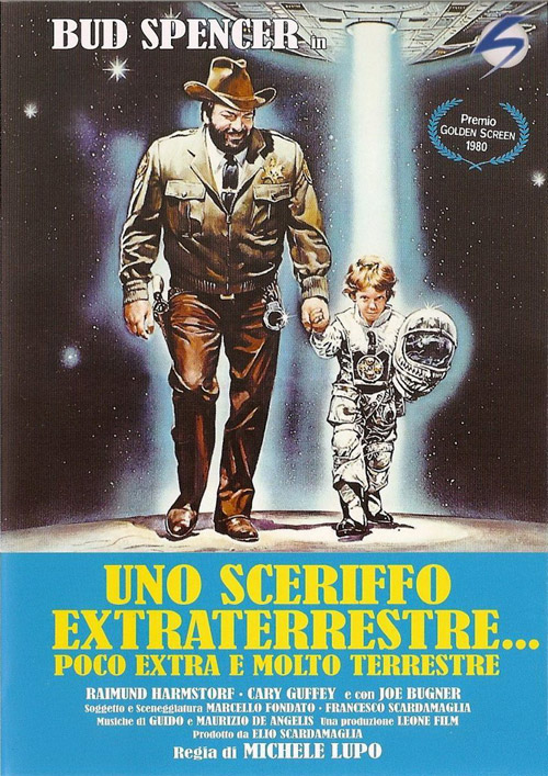Italian poster from the movie E.T. and the Sheriff (Uno sceriffo extraterrestre... poco extra e molto terrestre)